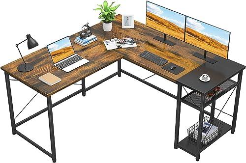 Foxemart L-Shaped Computer Desk - the best modern office desk for the money