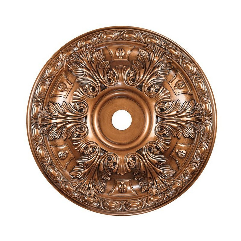 ELK Lighting M1020AB Decorative-Ceiling-Medallions, L x 36'' W x 4'' H, Bronze