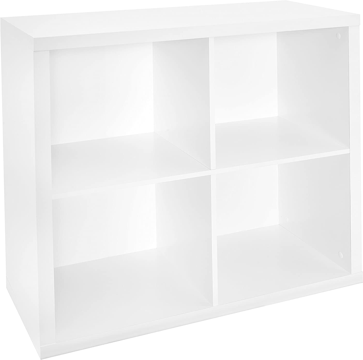 ClosetMaid 1108 Decorative 4-Cube Storage Organizer, White