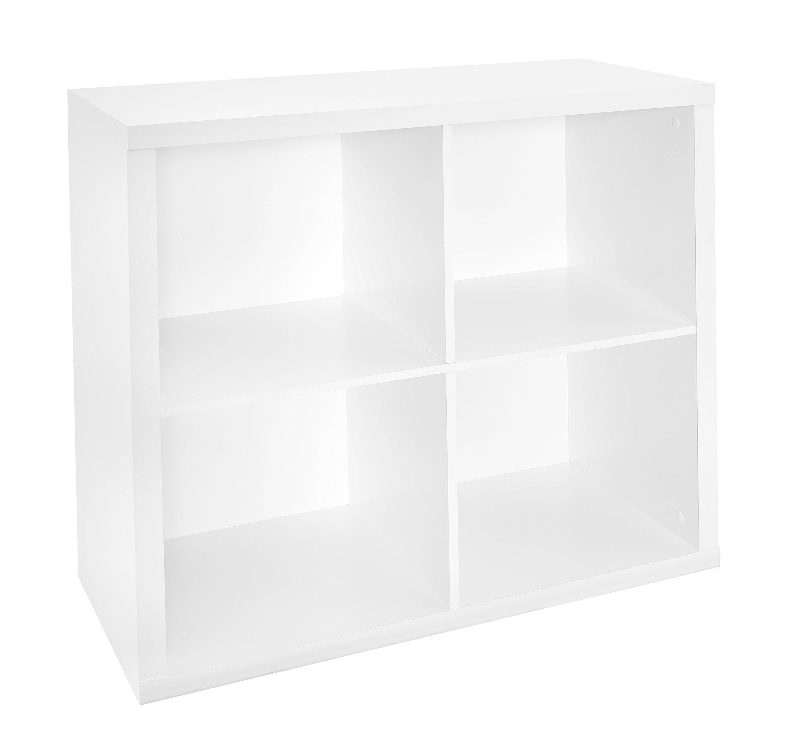 ClosetMaid 1108 Decorative 4-Cube Storage Organizer, White