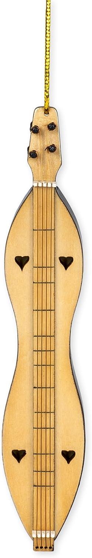 Broadway Gift Dulcimer Music Instrument Replica Christmas Ornament, Size 4 inch
