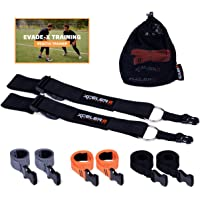 REACTIV TRAINER Evasion Belt (1 & 3 Pack) 1v1 Agility & Reaction Belt Coaching Equipment - Soccer, Basketball, Football, Lacrosse Defensive Trainer (Adult & Youth) Plus Training Videos