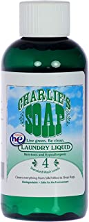 product image for Charlie's Soap Laundry Liquid Travel Size, 4 Load (1 Pack), 4.0 Fl Oz