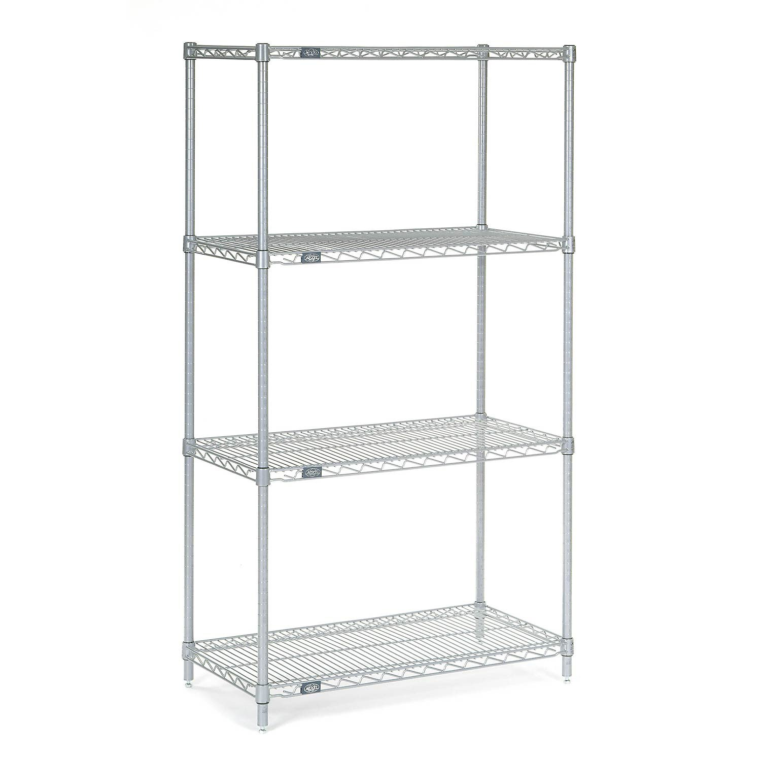 Chrome Wire Shelving, 30''W X 14''D x 54''H by Global Industrial