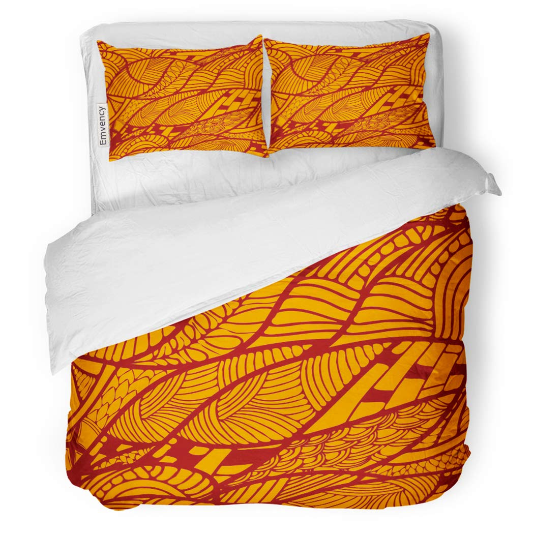 SanChic Duvet Cover Set African Abstract Ethnic Pattern Africa Indigenous Retro America Decorative Bedding Set Pillow Sham Twin Size