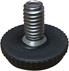 "Project Patio 5/16""-18 Screw in Threaded Adjustable Feet Glide for Patio Furniture Chairs and Tables (16)"