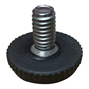 """Project Patio 5/16""""-18 Screw in Threaded Adjustable Feet Glide for Patio Furniture Chairs and Tables (24)"""