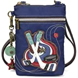 CHALA Crossbody RFID Cell Phone Purse - Women Nylon/Faux Leather Multicolor Handbag with Adjustable Strap - Chala Venture