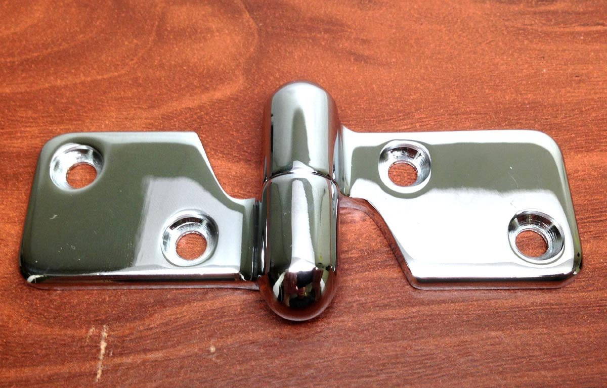 MARINE BOAT STAINLESS STEEL 304 MOTOR BOX HINGE 3.75'' BY 1 3/16'' HARDWARE