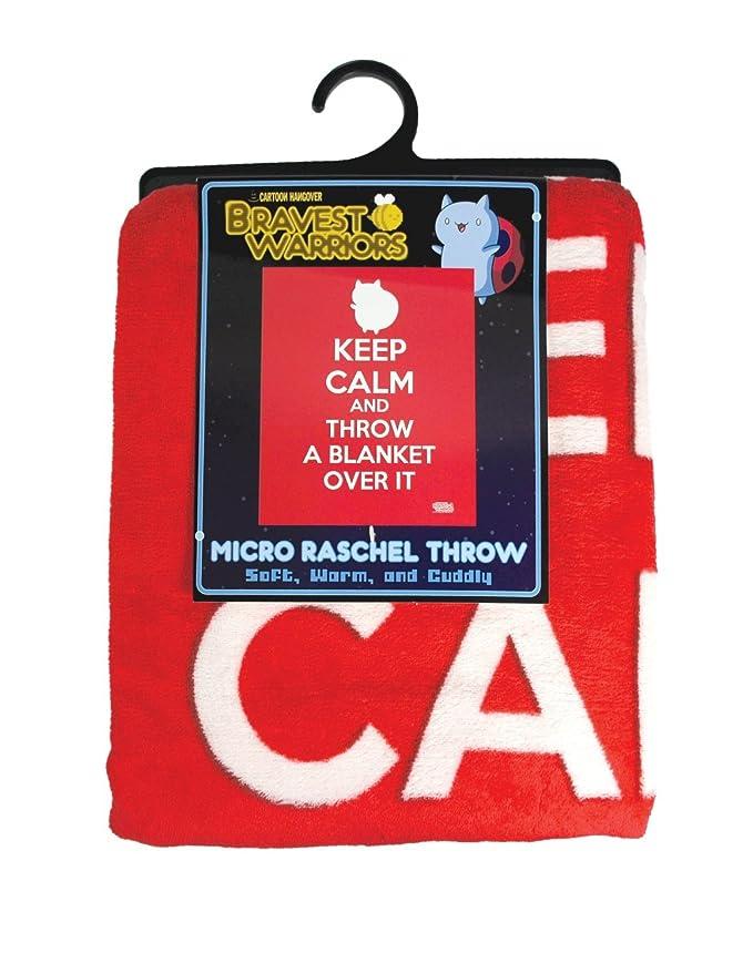 Amazon Bravest Warriors Catbug Microplush Blanket Keep Calm Gorgeous Keep Calm And Throw A Blanket On It