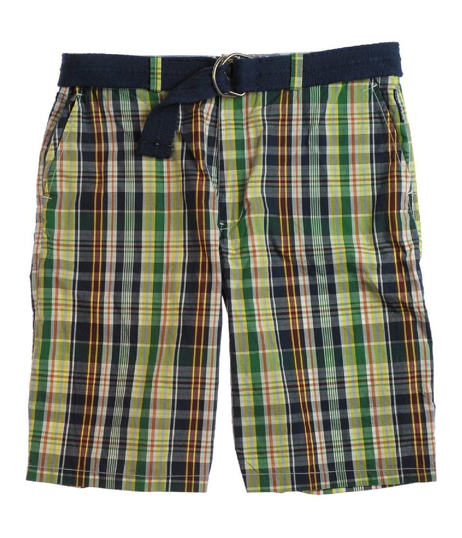 dde0eae3d8 low-cost Ecko Unltd. Men's Marc Ecko Mystery Plaid Belted Walking Shorts