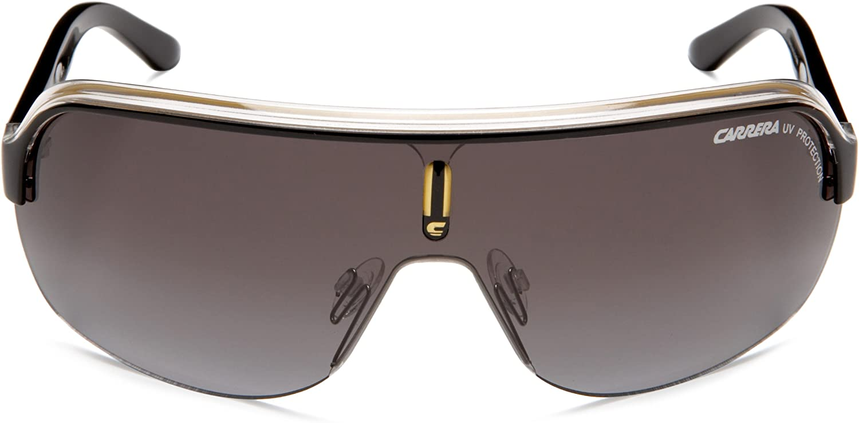 Carrera Sunglasses Topcar 1 KB0 PT Black Crystal Red Grey Gradient