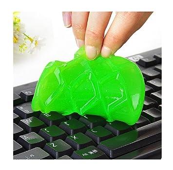 ularma reutilizable teclado Gel Limpiador polvo limpia de gérmenes Cyber para escritorio ordenador portátil teléfono coche: Amazon.es: Electrónica