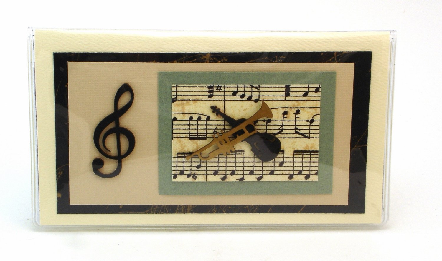 Music Checkbook Cover Made in the USA By Jades Menagerie