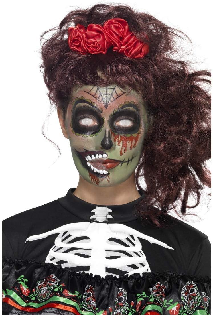 NET TOYS Kit Maquillaje de Zombi Día de los Muertos | De Varias ...