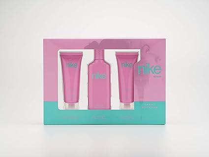Nike - Sweet Blossom Estuche de Regalo para Mujer, Eau de Toilette 75 ml, Gel Baño 75ml y Body Lotion 75ml: Amazon.es: Belleza
