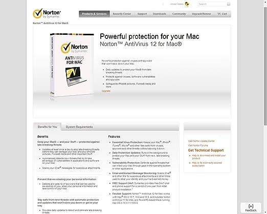 Norton antivirus 12 for mac download