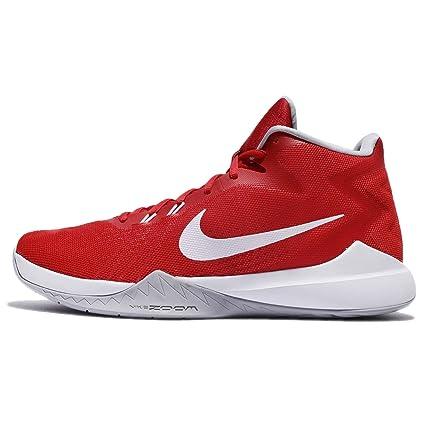premium selection 5526a 8c723 Nike Zoom Evidence, Scarpe per uomo, rosso (University Red White-Wolf  Grey), 44 EU  Amazon.it  Sport e tempo libero