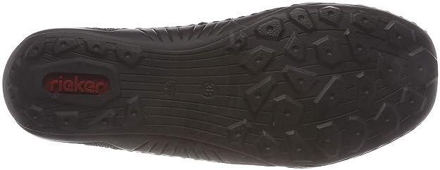 Rieker Damen N5290 Chelsea Boots, Blau (SchwarzPazifik