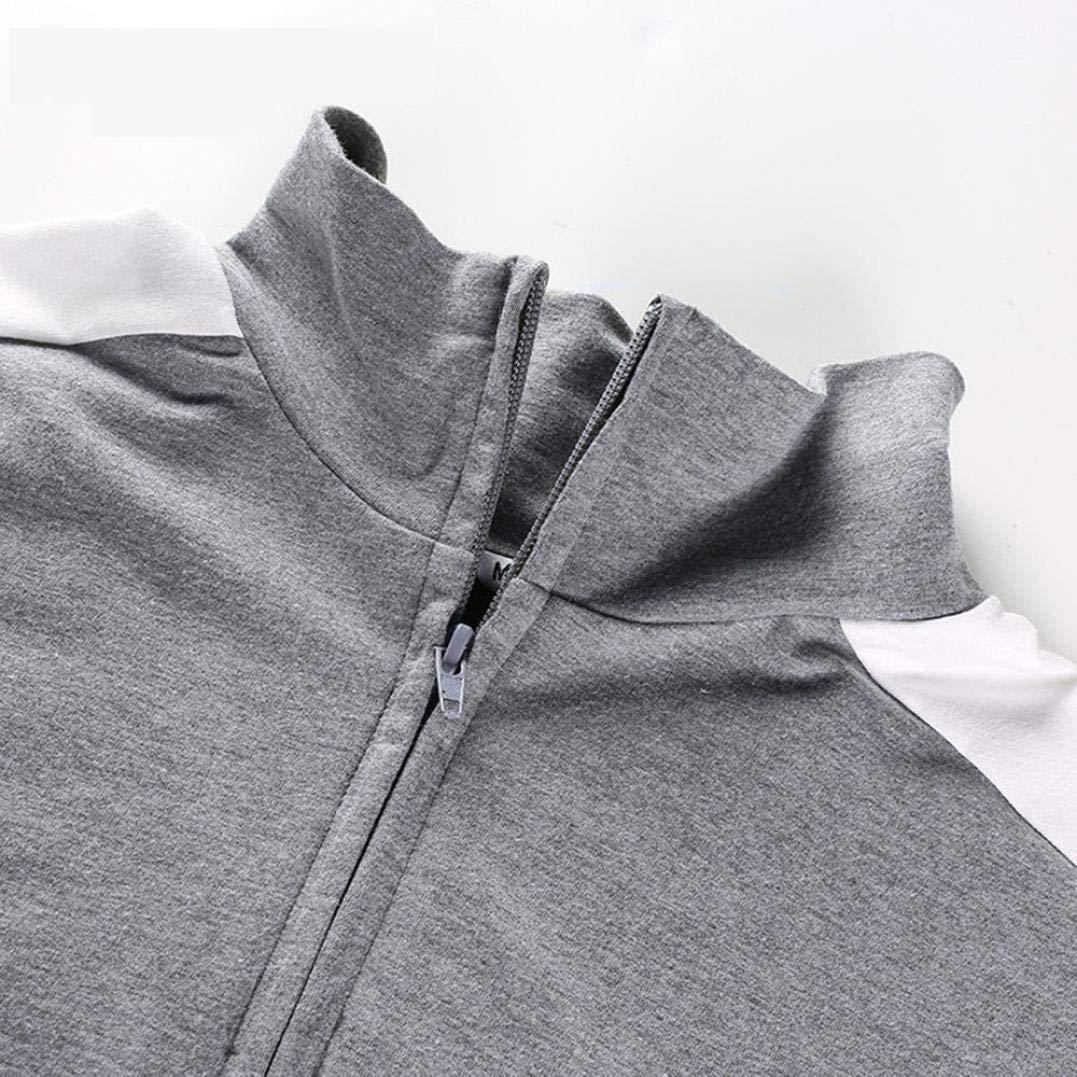 Spbamboo Women Long Sleeve Pullover Sweatshirt Blouse Zipper Crop Tops Shirt by Spbamboo (Image #4)