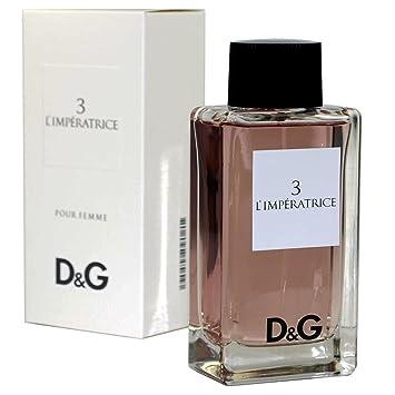 0d1a8c8ac4702 DOLCE GABBANA D G IMPERATRICE NO. 3 EAU DE TOILETTE SPRAY 100 ML   Amazon.co.uk  Beauty