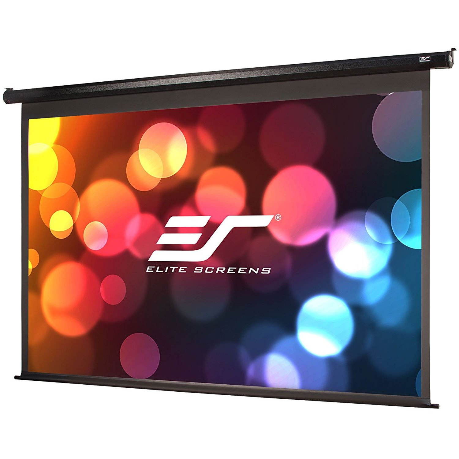 Elite Screens VMAX2, 100-inch 4:3, Wall Ceiling Electric Motorized Drop Down HD Projection Projector Screen, VMAX100UWV2 by Elite Screens (Image #1)