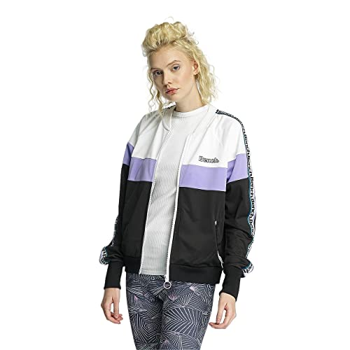Bench Colour Block Track Jacket, Chaqueta Punto para Mujer