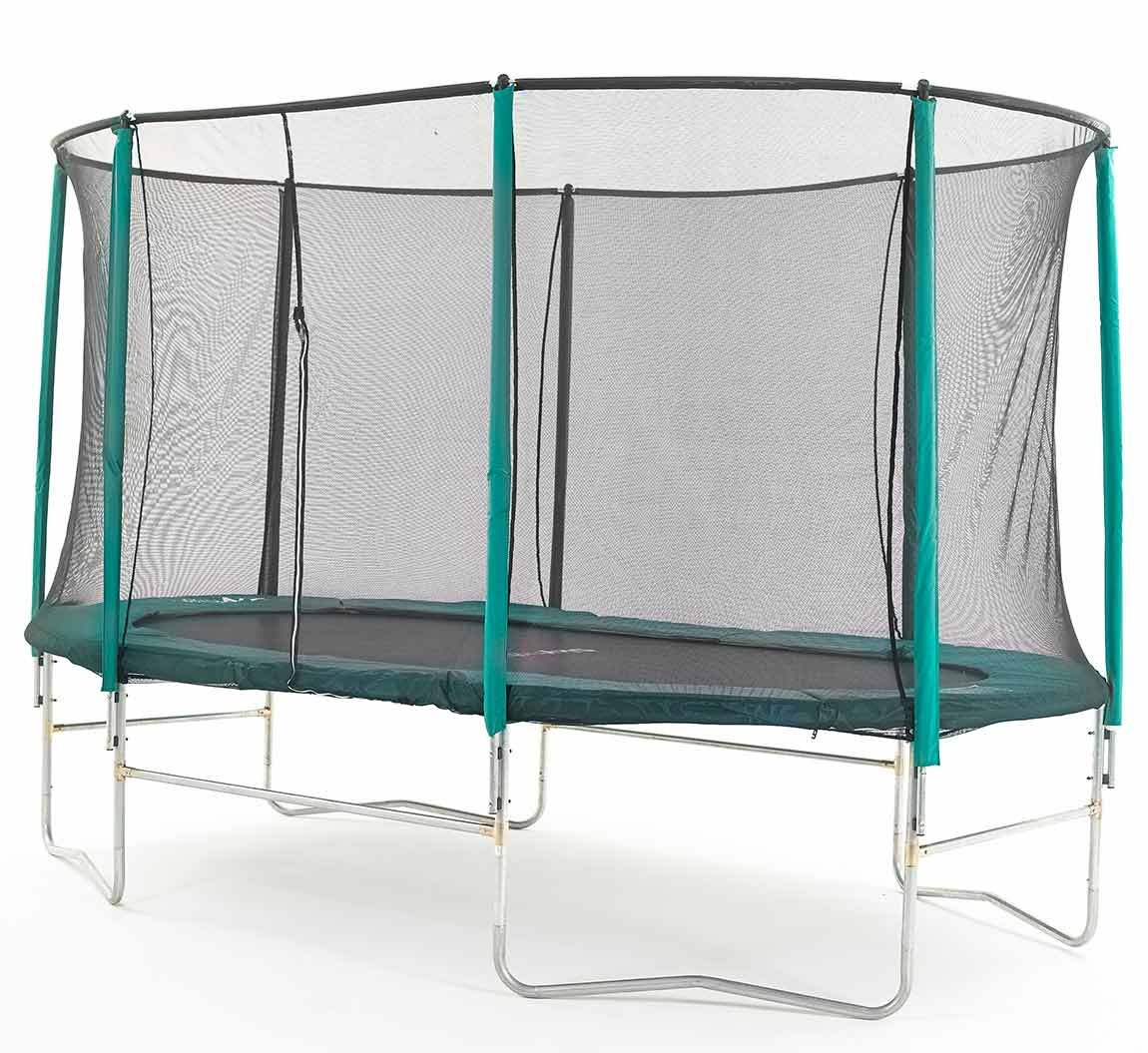 Skyhigh Oval Trampoline with Safety Enclosure
