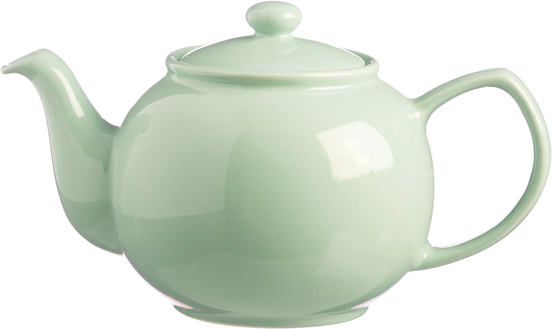Price & Kensington Mint 6 Cup Traditonal Fine Stoneware Teapot, 16x18x16 cm
