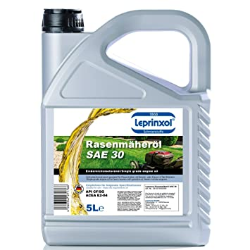 5L sae30 de 4 del 4 de T rasenmäheröl einbereichsöl antifricción 5 ...