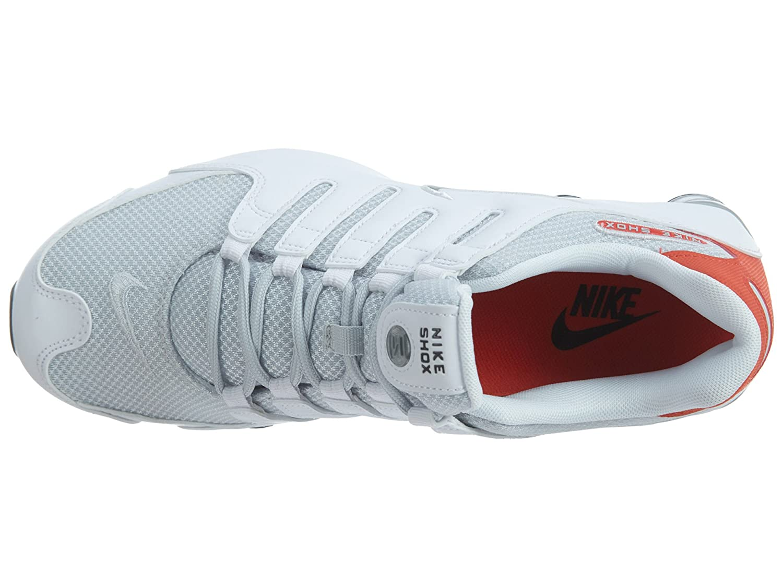 new style e0700 0511a Nike Shox NZ SE Men s Shoes White Max Orange Black Metallic Silver  833579-102 (11.5 D(M) US)  Amazon.it  Scarpe e borse