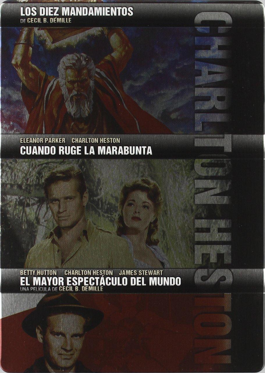 Amazon.com: Charlton Heston (Edición Estuche Metálico ...