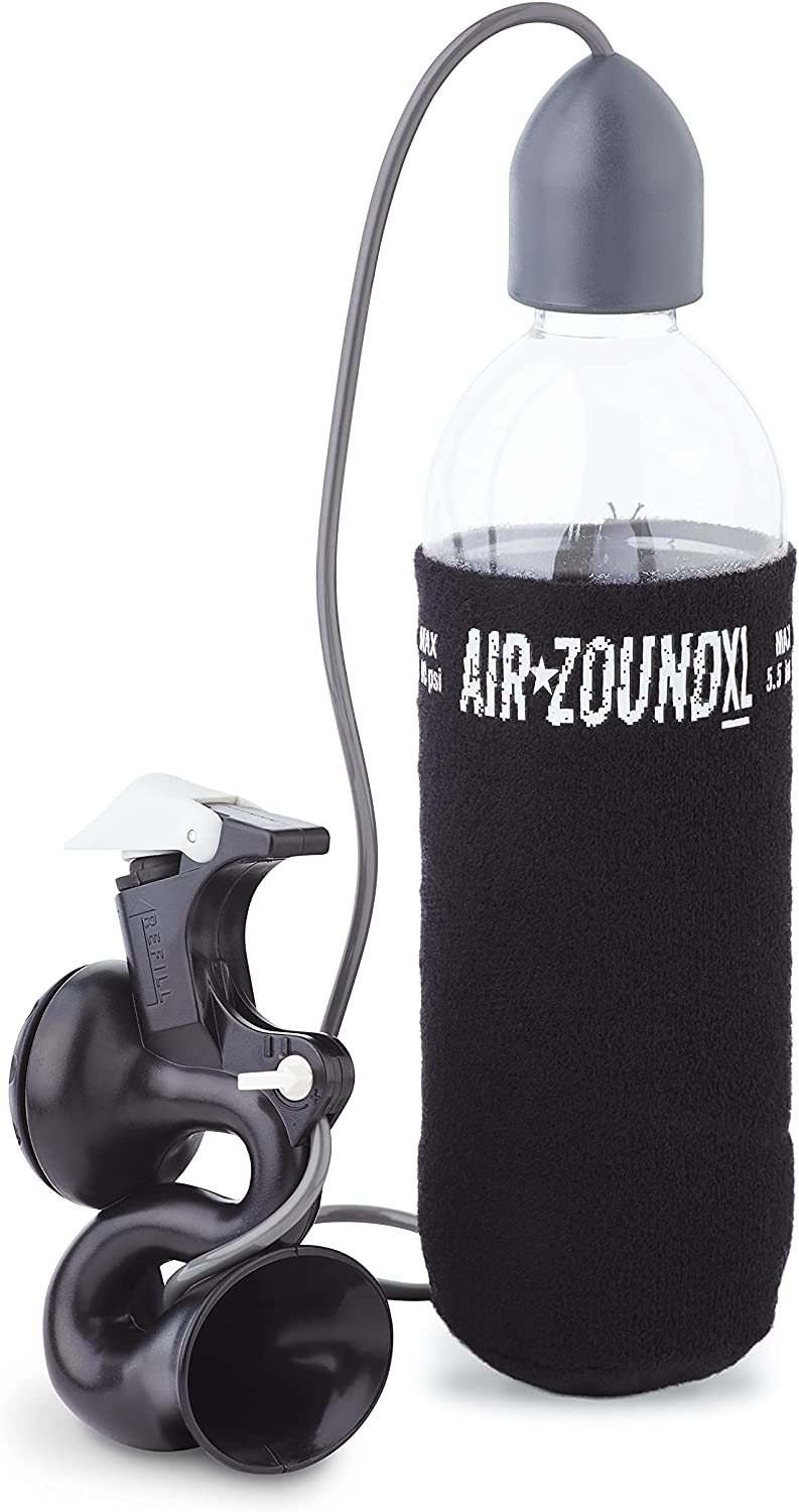Black for sale online Delta AirZound Rechargable Air Powered Horn