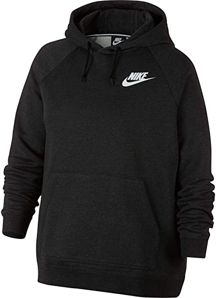 Amazon.com   Nike Women s Plus Size Sportswear Rally Hoodie   Sports ... 54292731b1