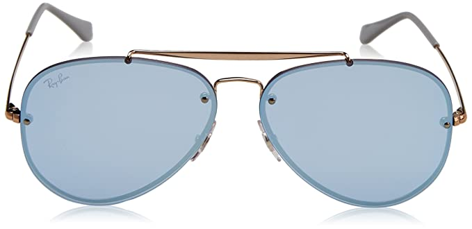 09e50e1c1 RAYBAN Unisex's 0RB3584N 90531U 61 Sunglasses, Copper/Dark Violet Mirror  Silver: Amazon.co.uk: Clothing