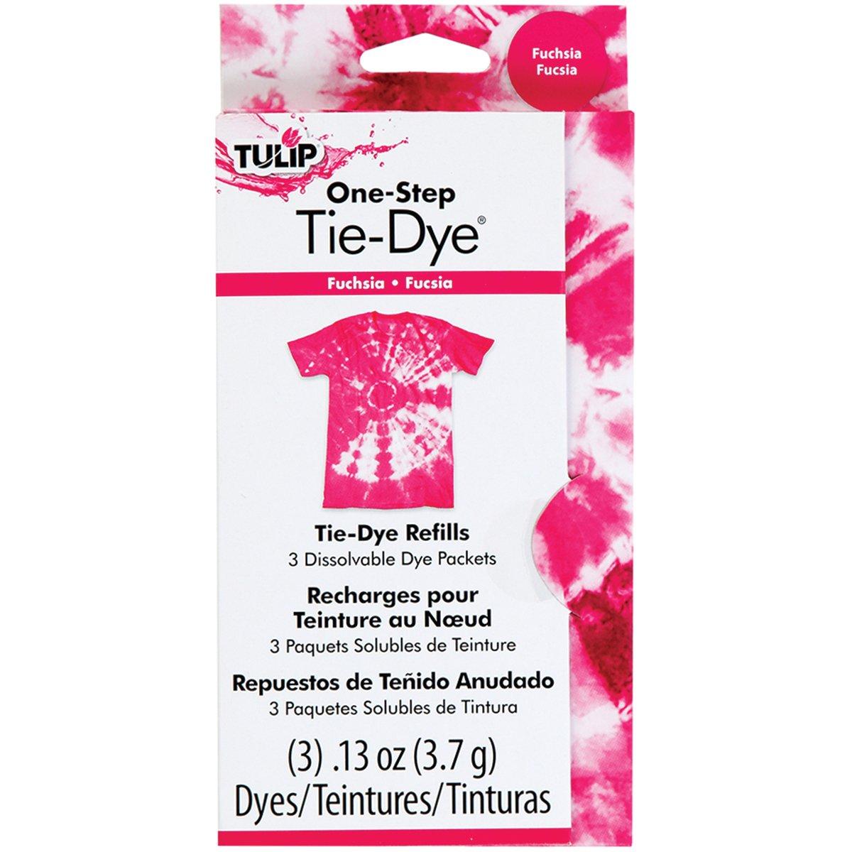 Tulip 29039 One-Step Dye Refills, Fuchsia