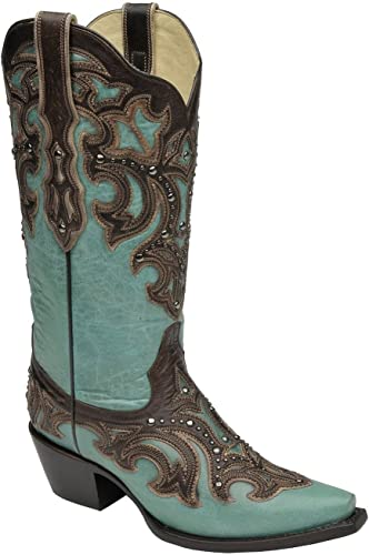 corral turquoise booties