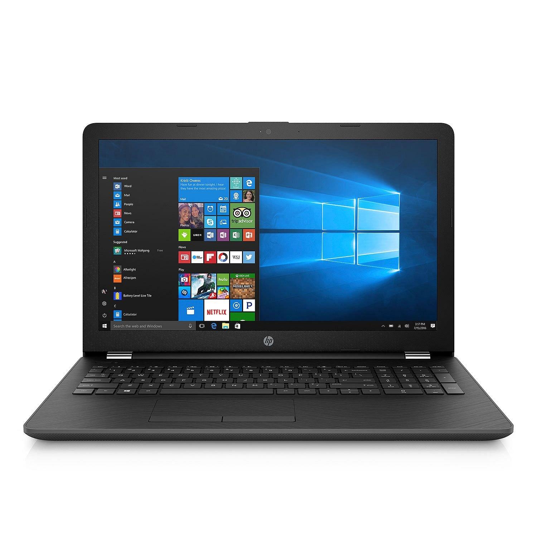 Newest HP 15.6'' HD Notebook (2018 Edition), Intel 8th Gen. Quad Core i5-8250U Processor up to 3.40GHz, 12GB DDR4 RAM, 2TB HDD, DVD-RW, 802.11ac, Bluetooth, HDMI, Webcam, Win 10 - Black