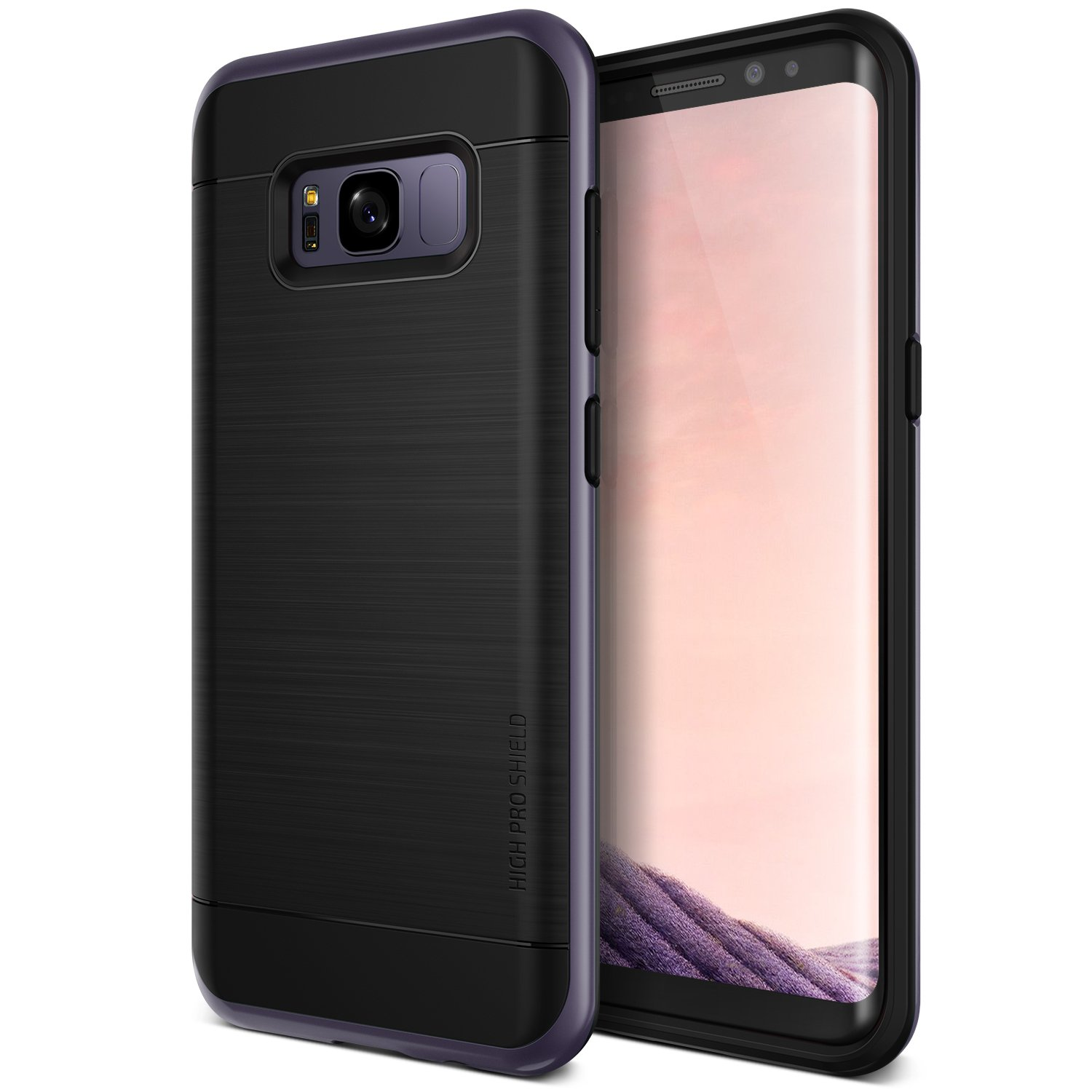 Galaxy S8 Case, VRS DESIGN Dual Layer Protective Phone Case [Orchid Gray] Premium Shockproof TPU Heavy Duty PC Bumper Cover for Samsung Galaxy S8 [High Pro Shield]