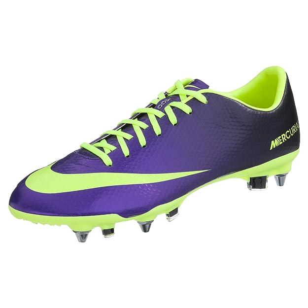 Nike - Botas de fútbol de según descripción para Hombre Amarillo ...