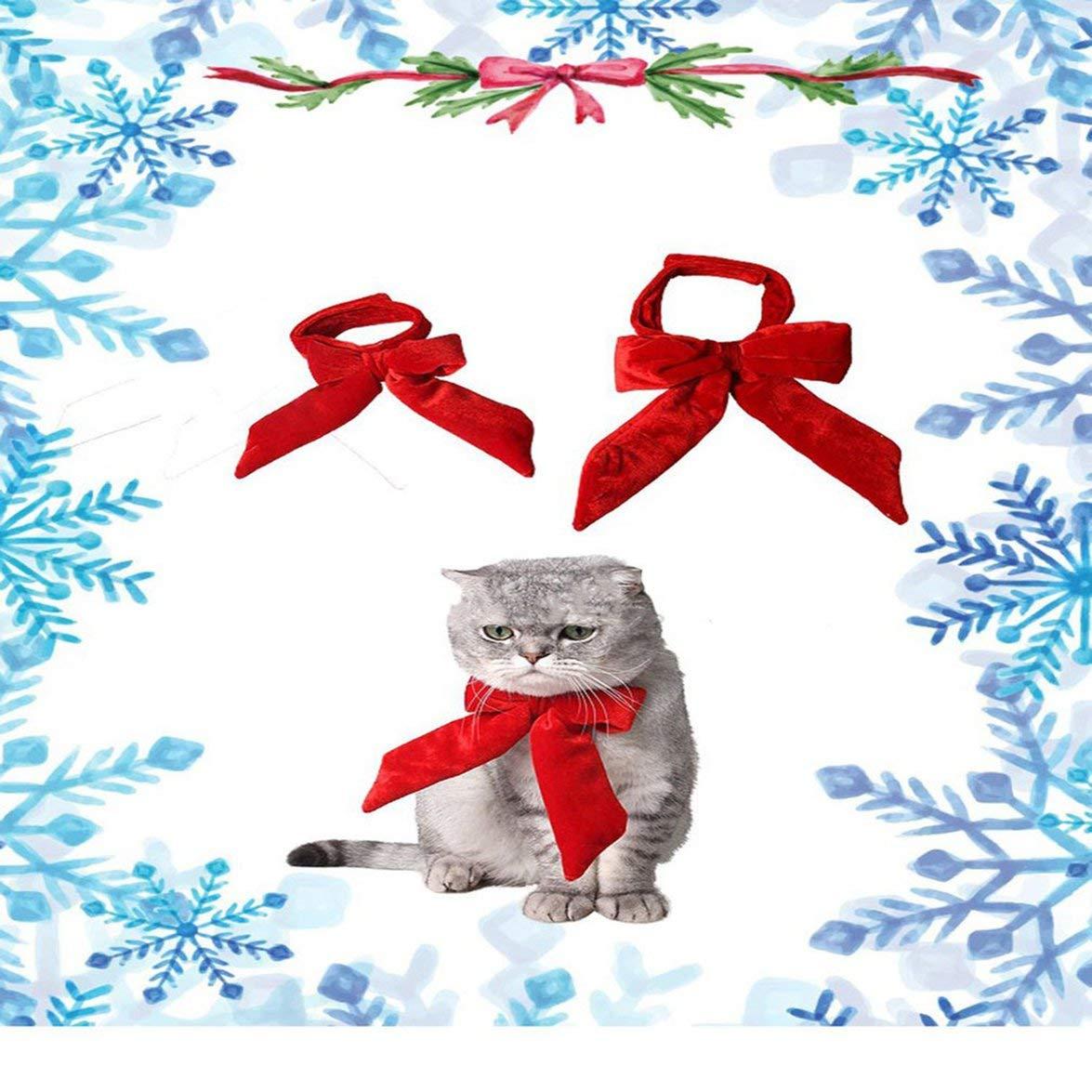 Animal de Compagnie Vinkent Cute Pet Supplies Chat N/œud Papillon pour Chat