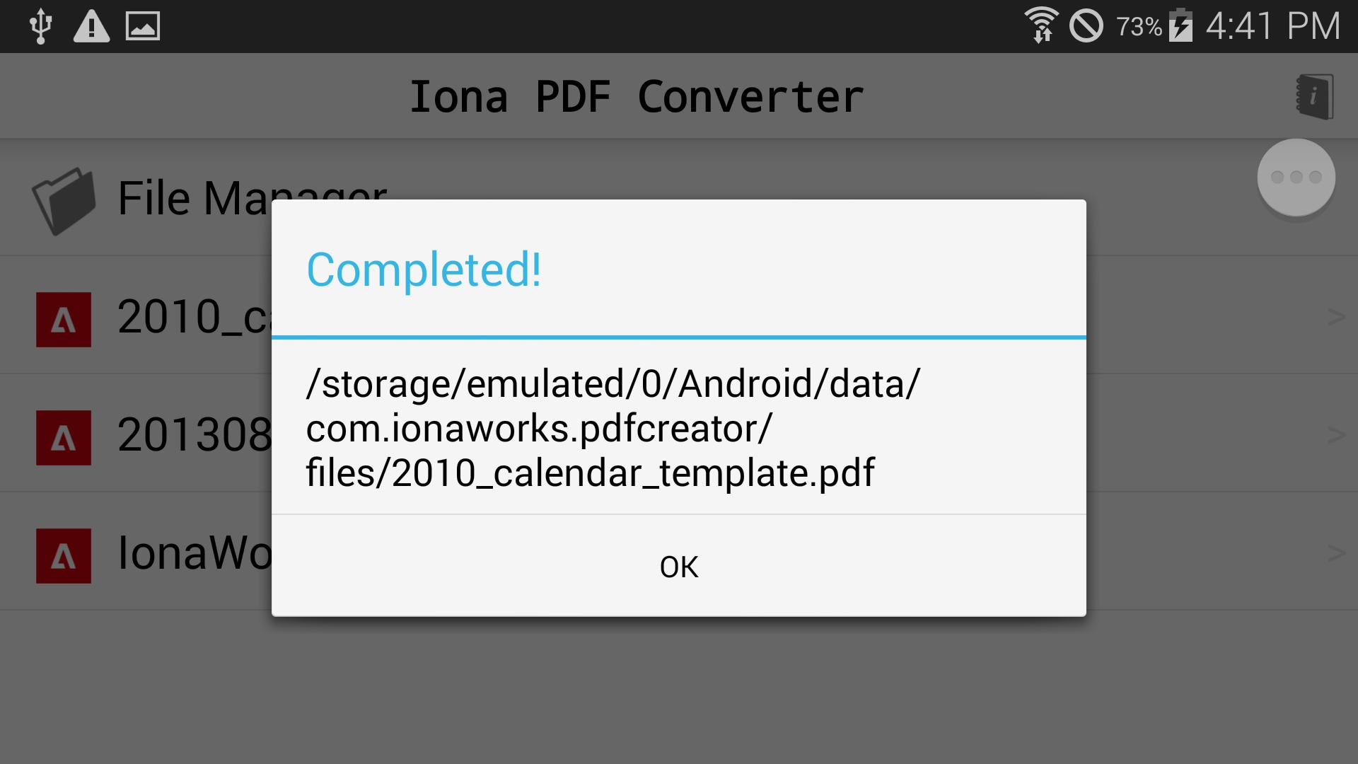 Pdf File Java App