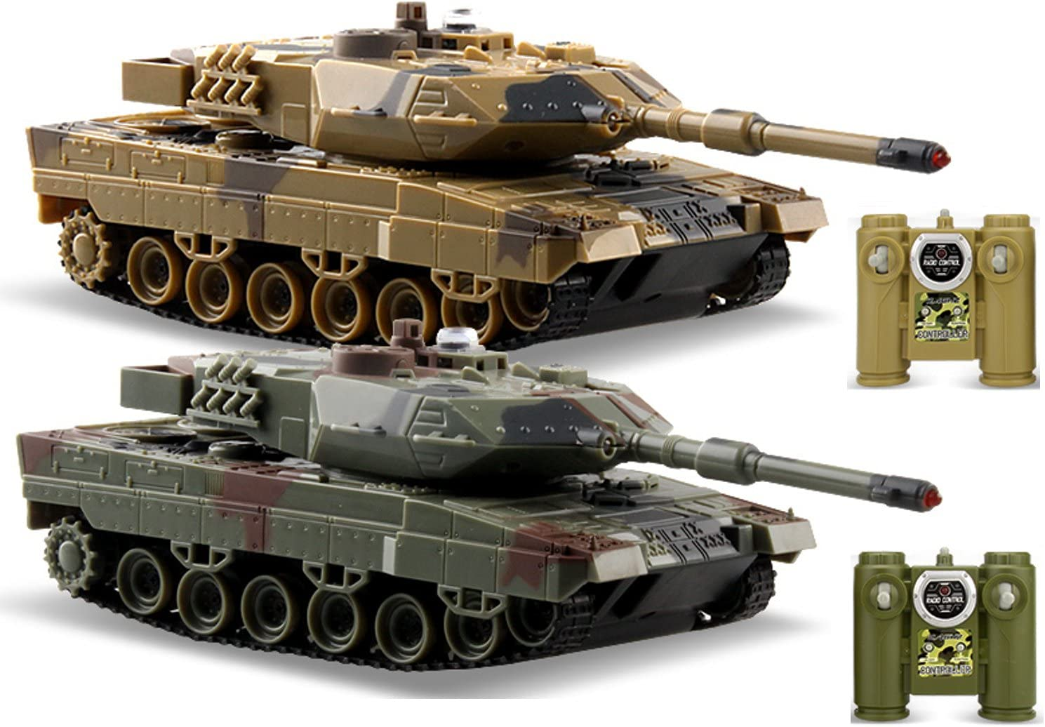 Top 10 Best Remote Control Tanks Battle (2020 Reviews & Buying Guide) 4