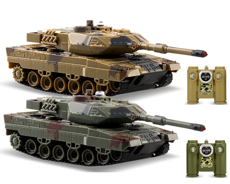 Amazon com: POCO DIVO 2-Set Infrared Battling Tanks M1A2 Abrams RC