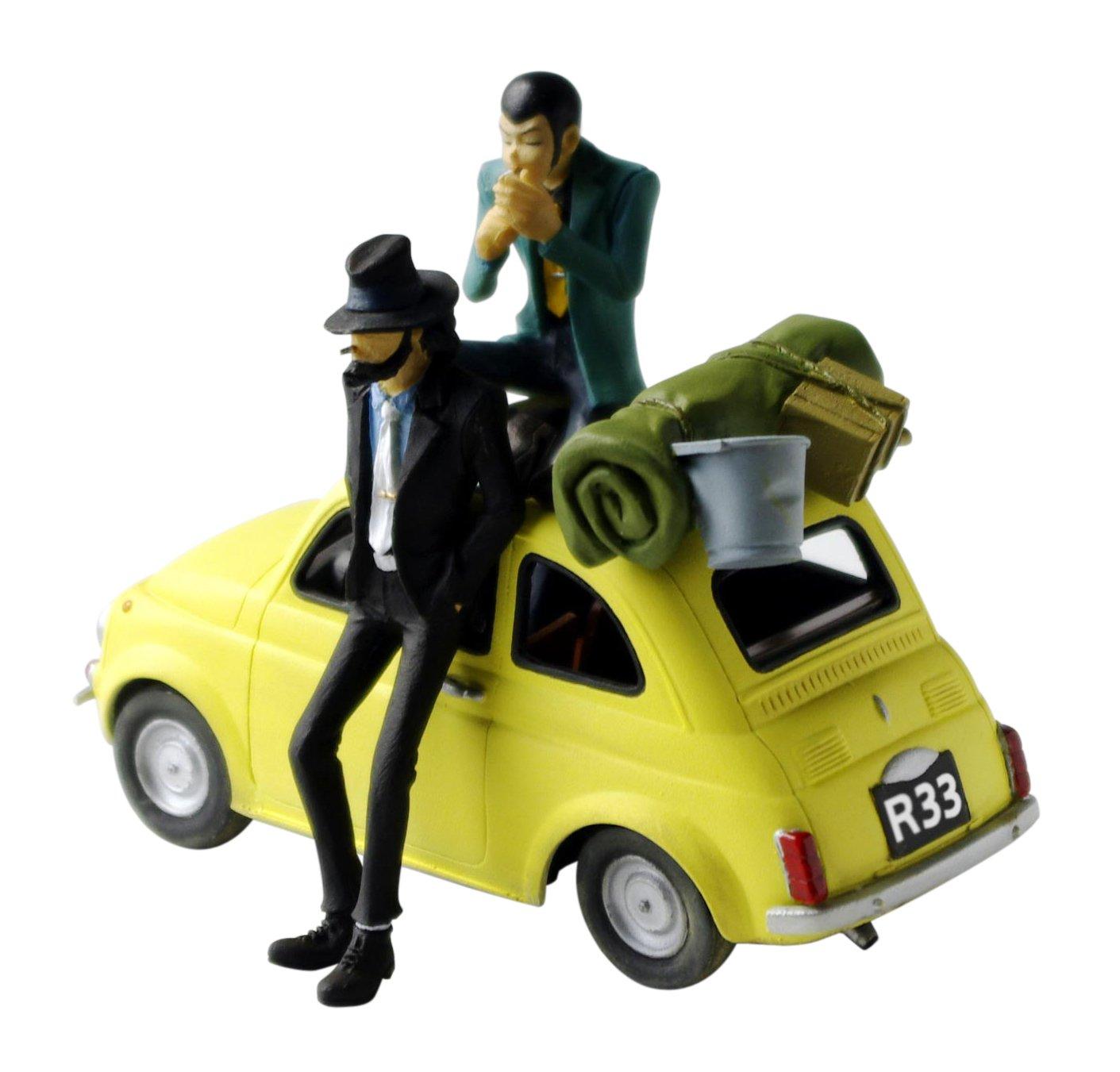 Lupin III - Treasure On Desk Figure act. 2 [Tabiji] Lupin and Jigen (japan import)