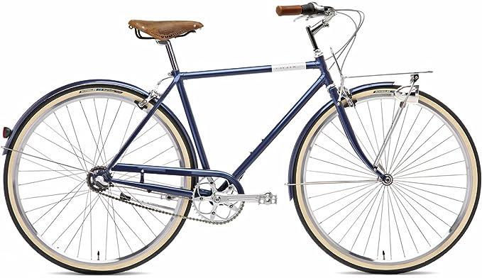 Creme BI-CRE-2106_182_55 - Bicicleta de Paseo para Hombre, Talla M ...