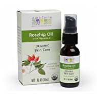 Aura Cacia Skin Care Organic Rosehip Oil, 1 Fluid Ounce