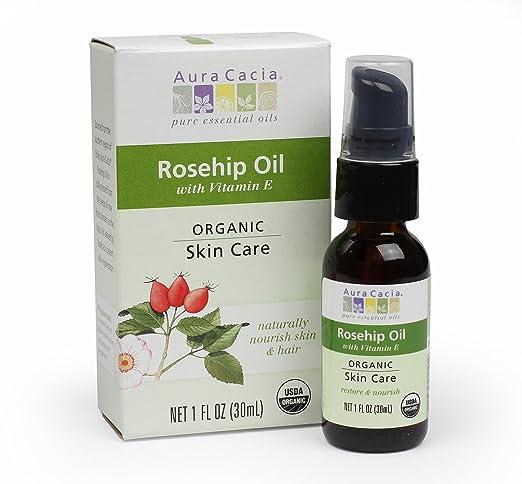 Aura Cacia Organic Rosehip