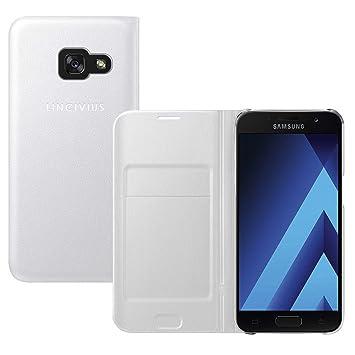 Lincivius Funda Samsung A3 2017 [Flip Cover] Carcasa Samsung ...