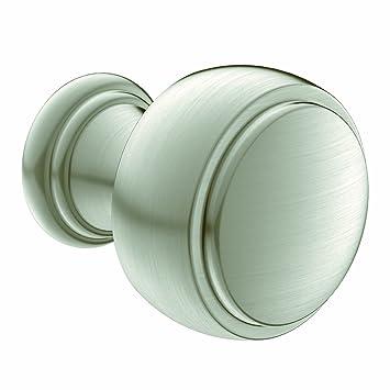 moen yb8405bn weymouth cabinet knob brushed nickel